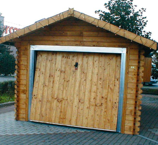 Box legno auto for Prezzo del garage 16x20