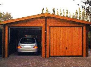 Box legno auto for Box modulare per auto